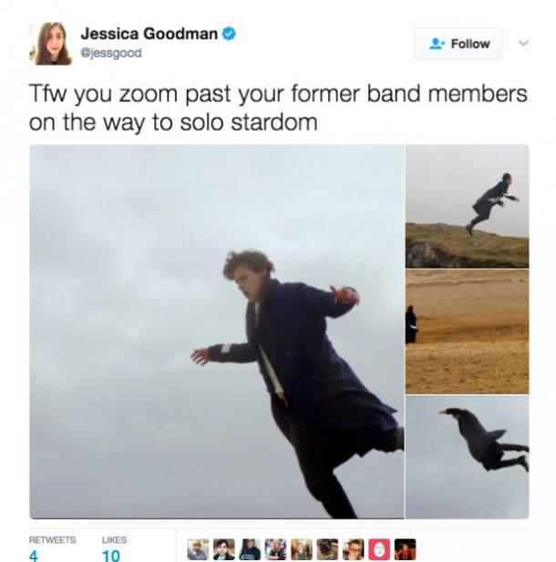 13 Memes From Harry Styles New Video For 'Sign Of The Times'
