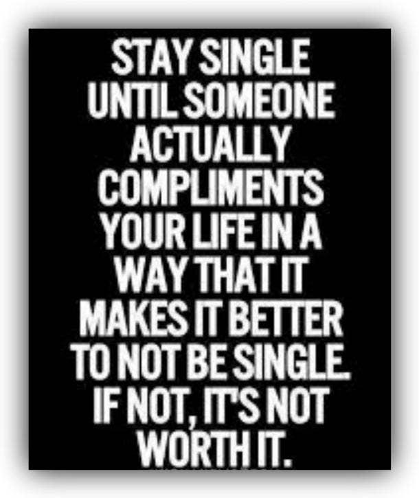 single ladies quotes