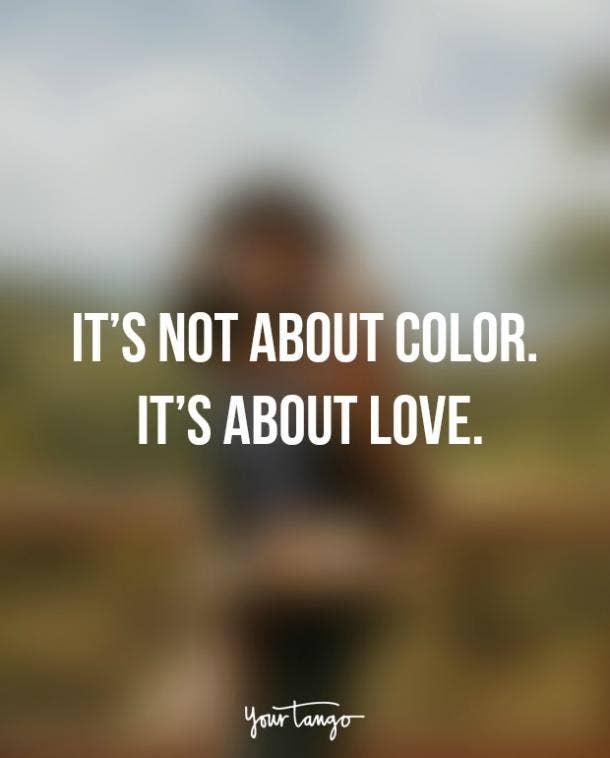 Etonnant Interracial Dating Quotes. U201c