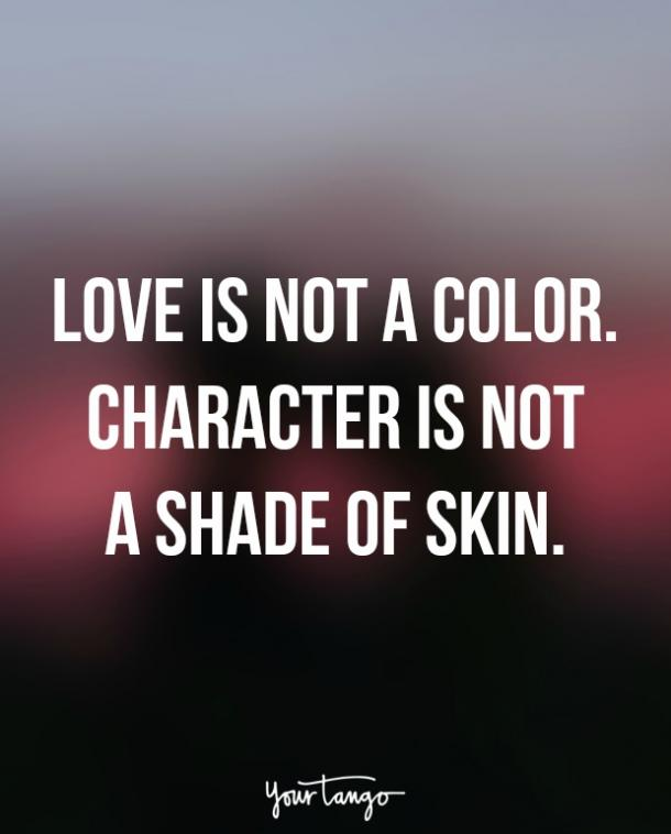 Interracial Love Quotes Classy 15 Interracial Dating Quotes That Show Far We've Really Come