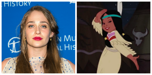 Jemima Kirke and Princess Tiger Lily - <i>Mike Pont/Getty Images & Disney</i>