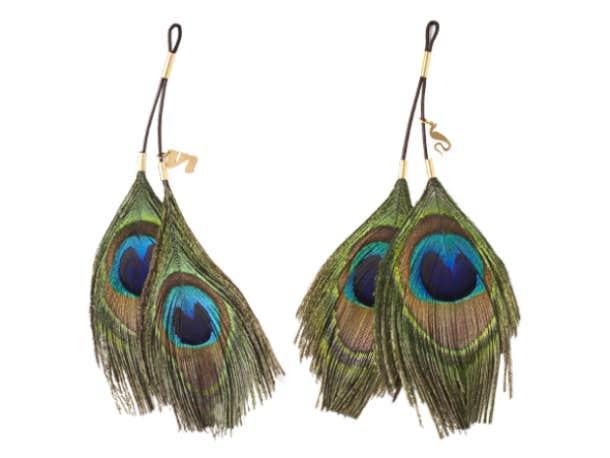 Cleo Nipple Clamp Earrings, $54