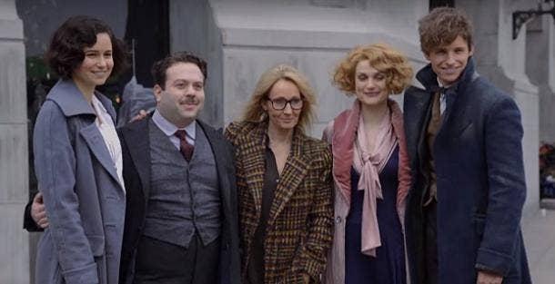Fantastic Beasts J K Rowling rumors