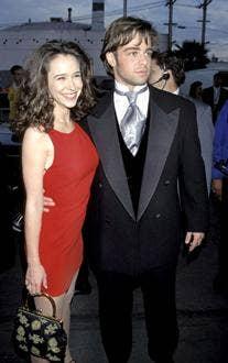 "<a href=""http://www.tvguide.com/celebrities/joey-lawrence/photos/157668/24433"">8. Jennifer Love Hewitt and Joey Lawrence</a>"