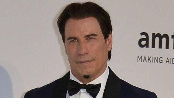 John Travolta Chin Beard