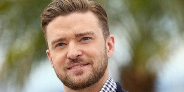 Justin Timberlake beard
