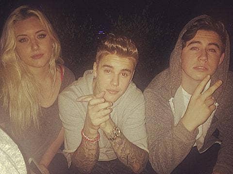 Justin Bieber tattoos - Instagram