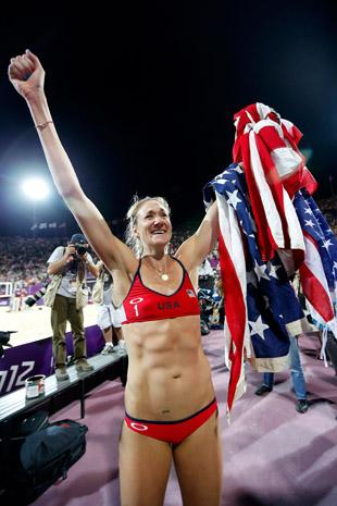 """<a href=""""http://blog.sfgate.com/olympics/2012/09/24/kerri-walsh-jennings-was-five-weeks-pregnant-during-her-olympic-gold-medal-run/"""">blog.sfgate.com</a>"""