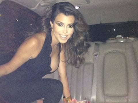 Kourthey Kardashian jumpsuit