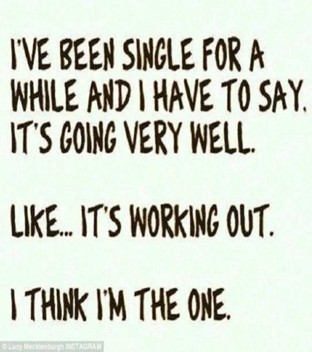 funny singles quote