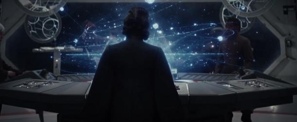 3. That shot of Carrie Fisher's Princess Leia from behind