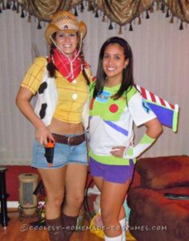 lesbian couple costume