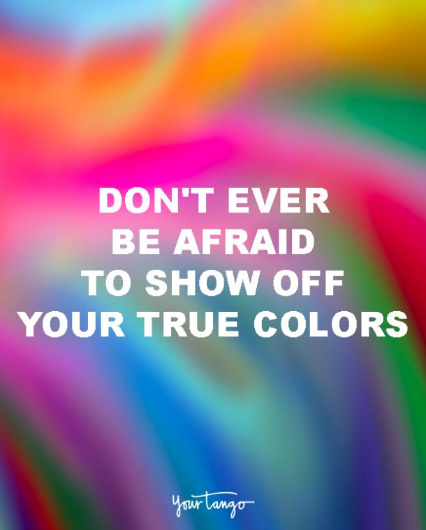dont ever be afraid lgbt quotes love