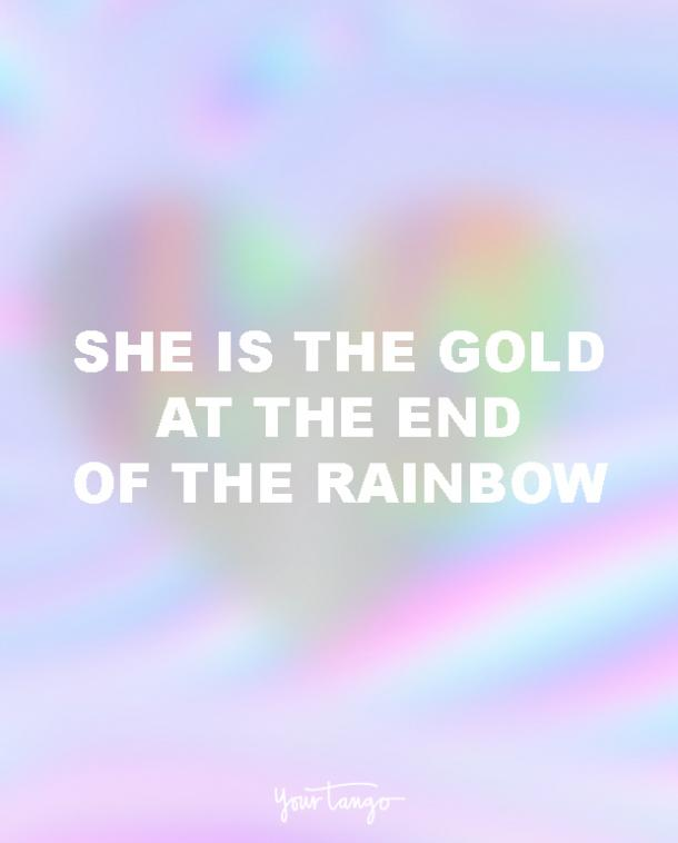 she is the gold lgbt quotes love