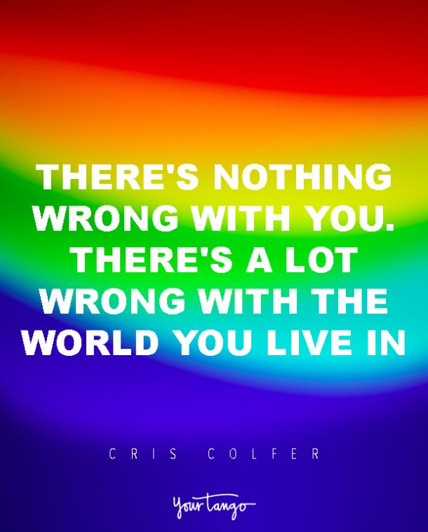 chris colfer lgbt quotes love