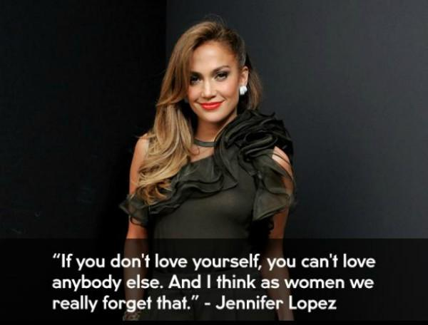 jennifer lopez Inspiring Quote About Life