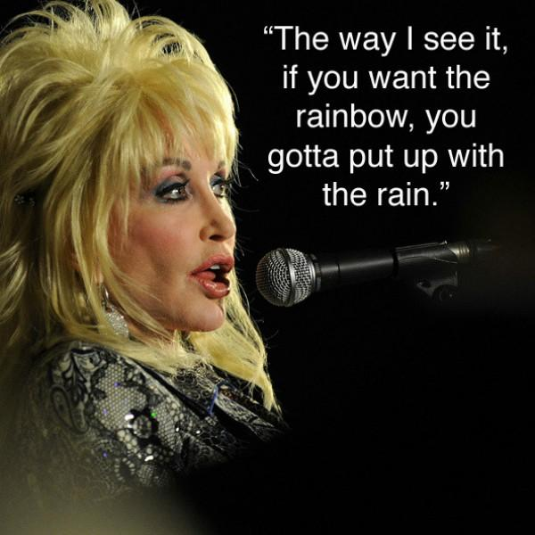 dolly parton Inspiring Quote About Life