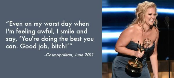 amy schumer Inspiring Quote About Life