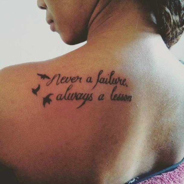 life quotes tattoos