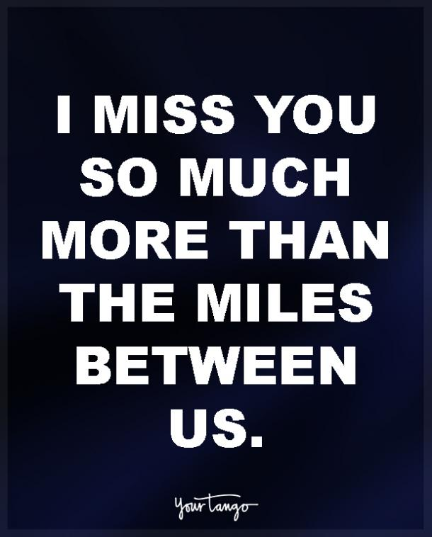 Charming Long Distance Love Quotes For Him. U201cI Miss You ...