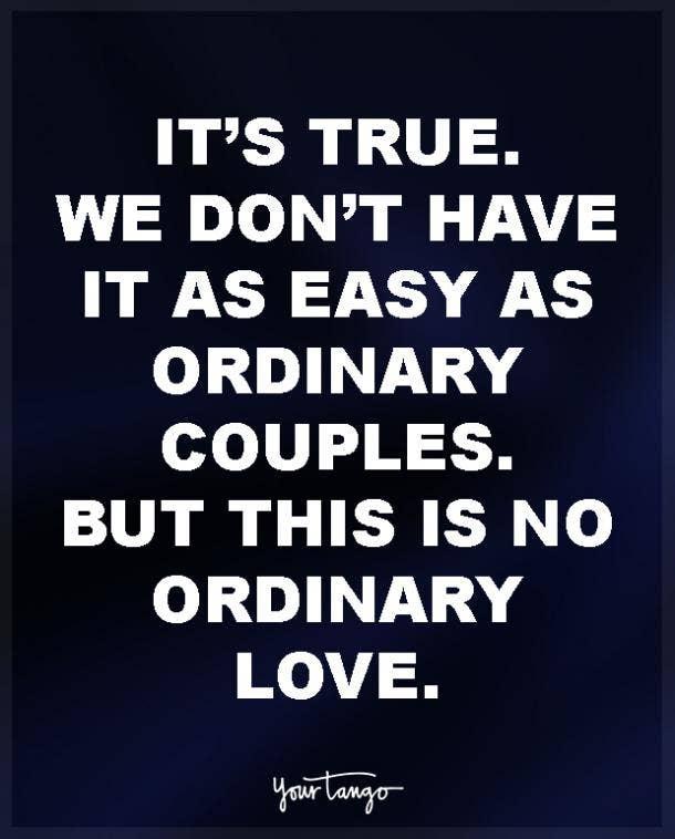 True love distance quotes