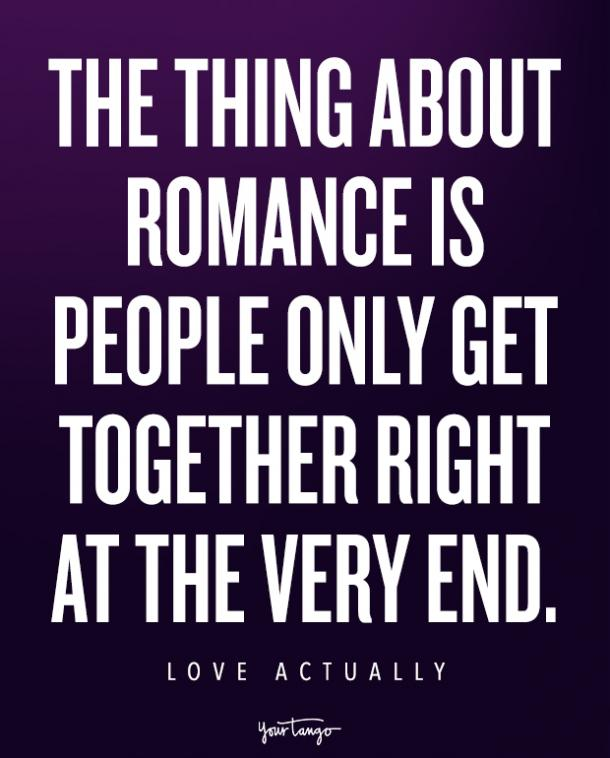 Love Actually quotes, holiday love quotes