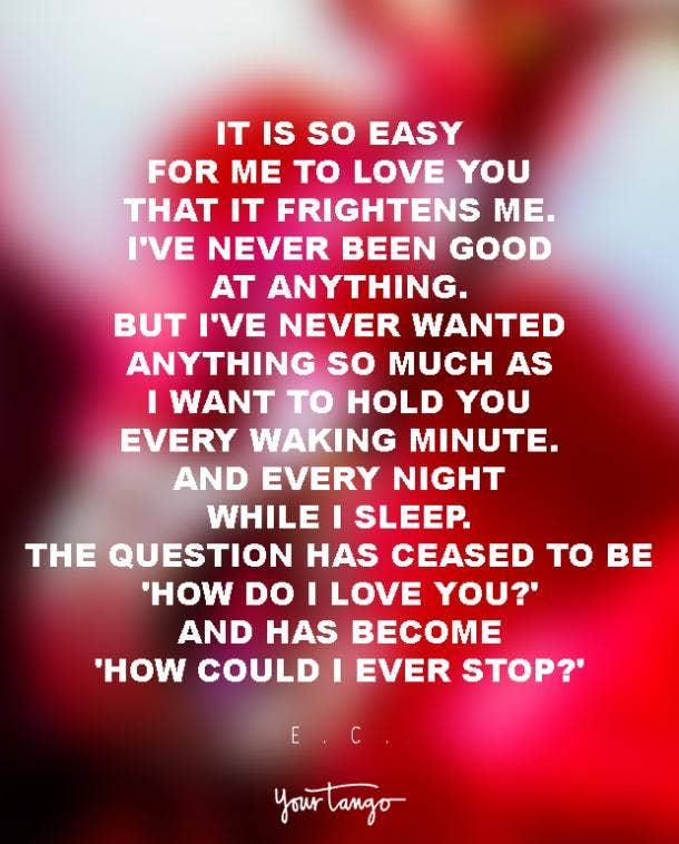 A good love poem