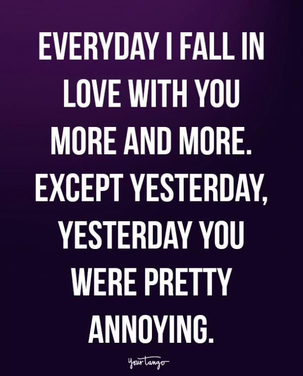 20 Silly Love Quotes For Him To Make Him Smile Again After A