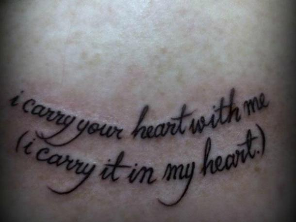Superbe Love Quotes Tattoo Quotes. U201c