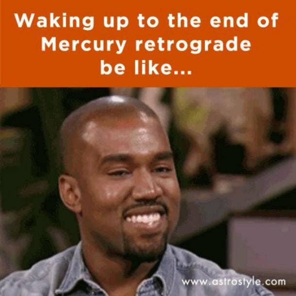 Astrology, Mercury Retrograde, Meme