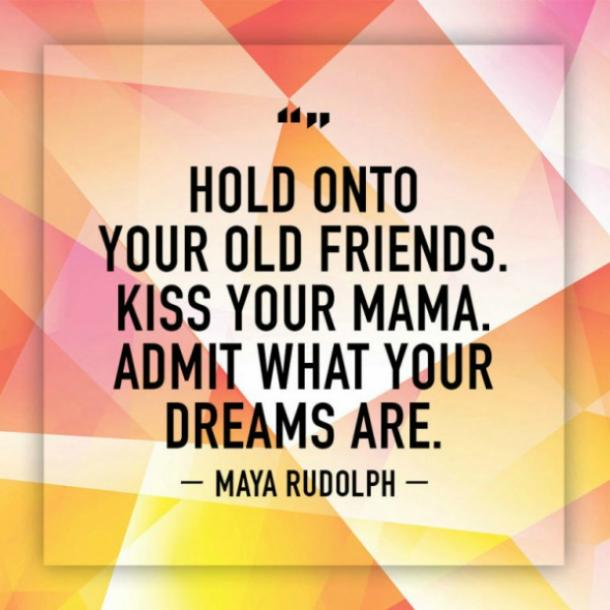 maya rudolph funny quote
