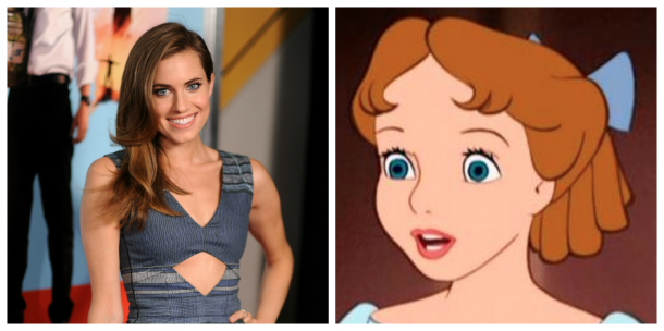 Allison Williams and Wendy Darling - <i>Dimitrios Kambouris/Getty Images & Disney</i>