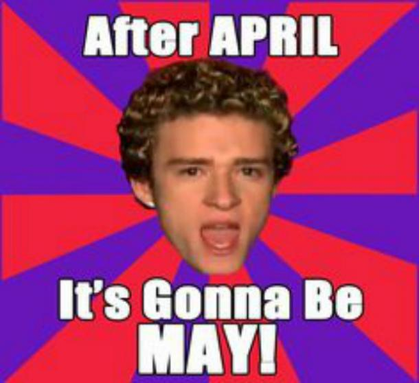 What Is The 'It's Gonna Be May' Meme Justin Timberlake Meme May Meme