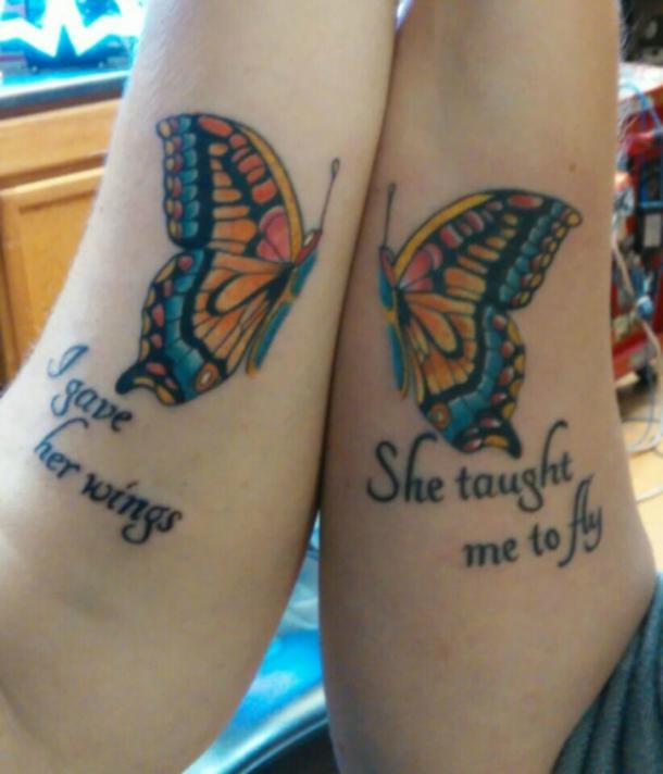 45 Mother Daughter Tattoos In Honor Of Your Bond Together | YourTango