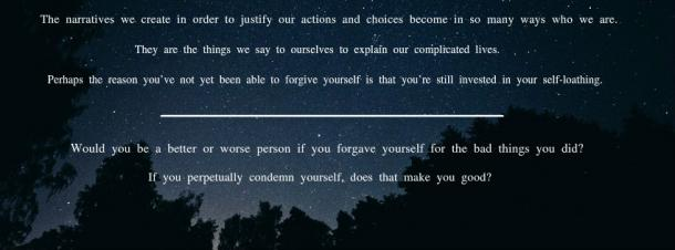 13. Forgive yourself.