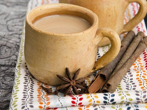 pieces chai tea latte