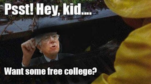 Best Bernie Sanders Free College