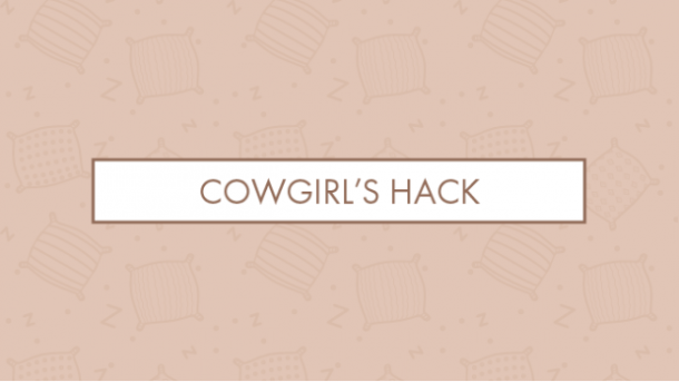 Cowgirl's hack