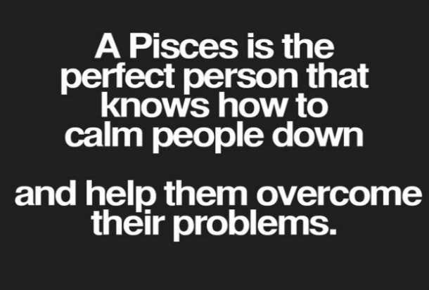 Pisces calm