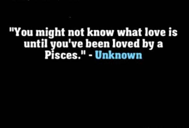Pisces love