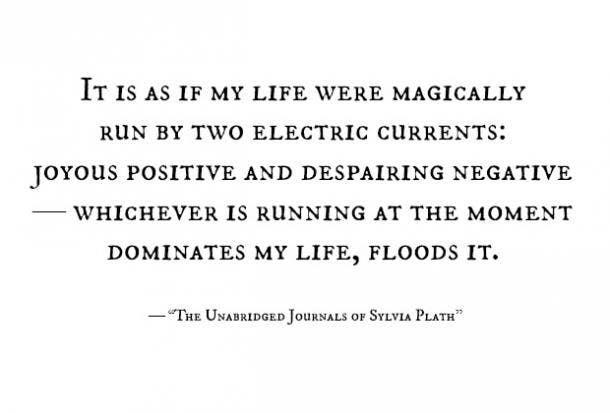 sylvia plath bpd quotes