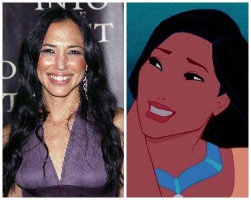 Irene Bedard Pocahontas Disney princess