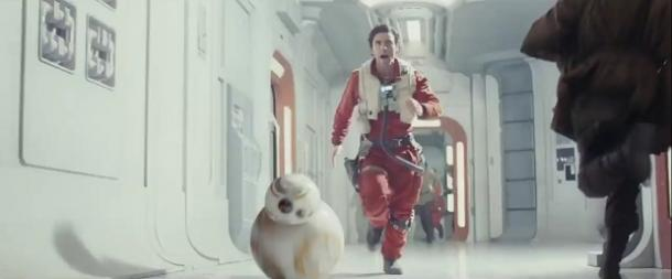 6. Poe Dameron and BB-8 are teamed up again
