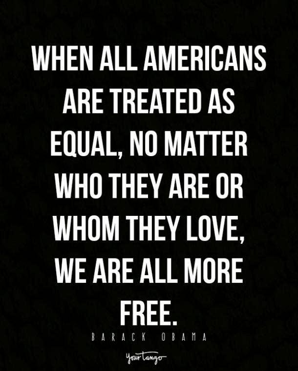 Barack Obama pride quotes