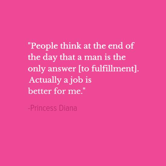 Princess Diana inspirational quotes
