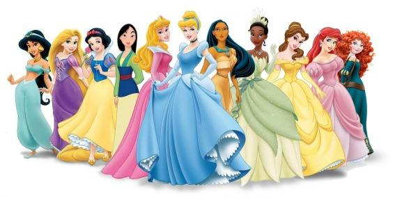 Disney Princesses Snow White Cinderella Belle Ariel Sleeping Beauty Jasmine
