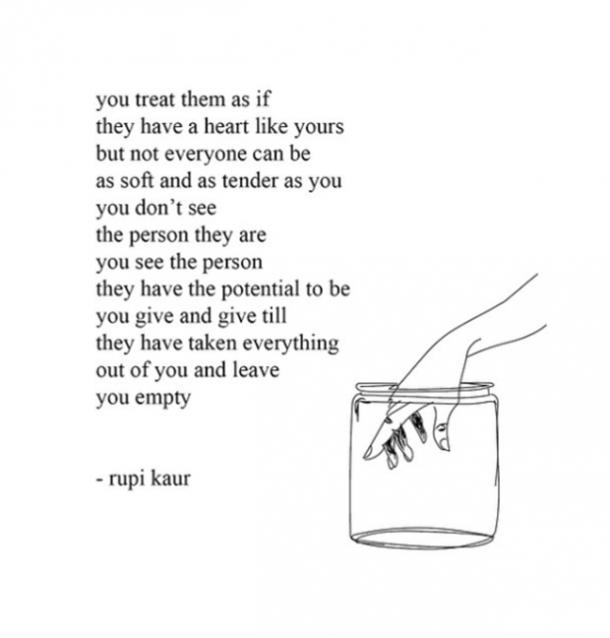 14 Unrequited Love Quotes By Rupi Kaur To Heal Your Heart Yourtango