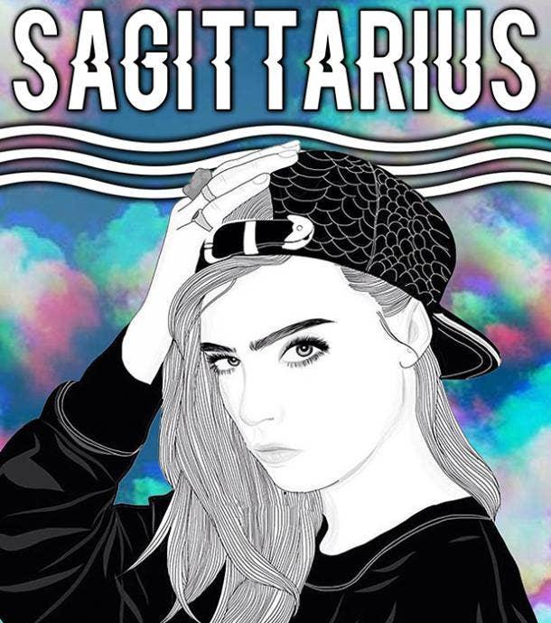 sagittarius zodiac sign is she flirting with me