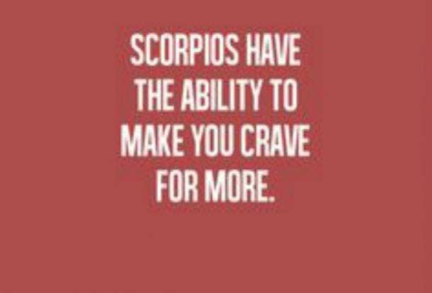 Scorpio sex