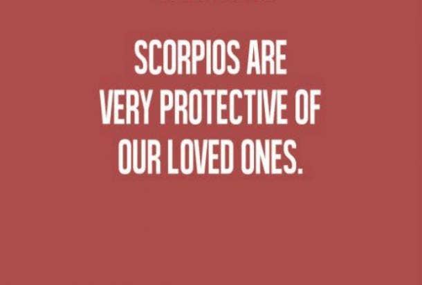 scorpio protective